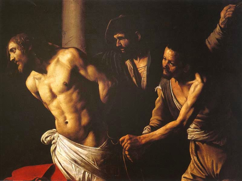 The Flagellation ~ Caravaggio