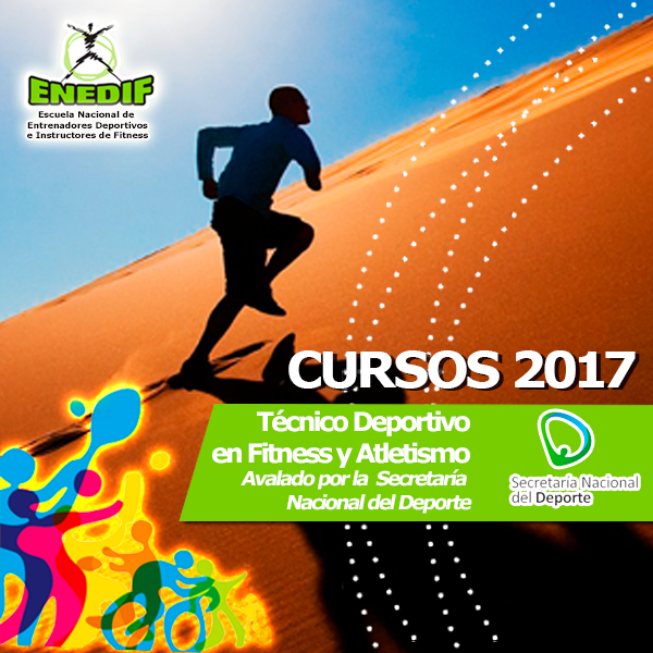 Curso 2017 de Técnico Deportivo en Fitness y Entrenamiento a la Actividad Física en ENEDIF