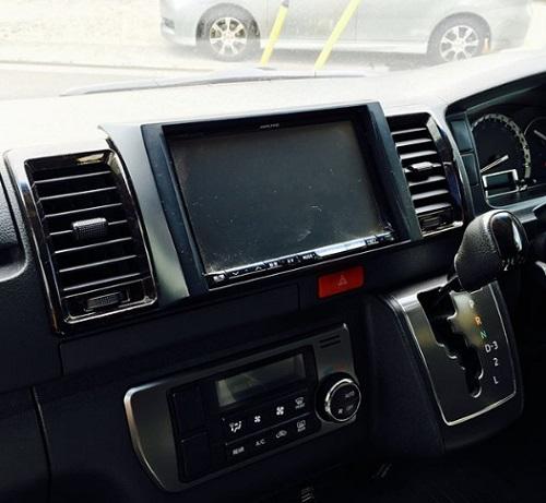 Kabin Toyota Hiace baru review