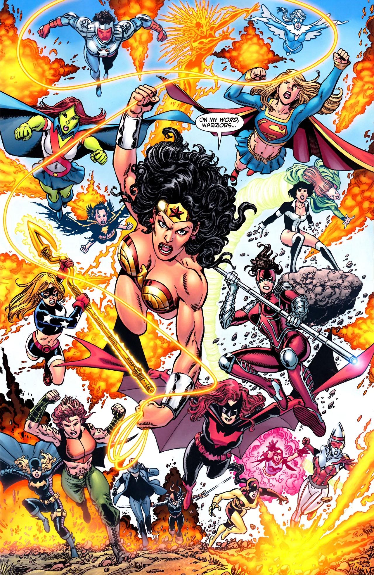 Read online Wonder Woman (2006) comic -  Issue #600 - 4
