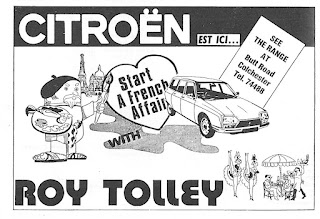 Roy Tolley advert 1978 Citroen