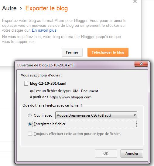 Créer un livre PDF de son blog Blogger