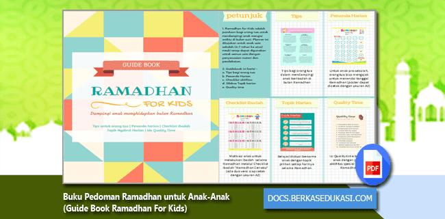 Buku Pedoman Ramadhan untuk Anak-Anak (Guide Book Ramadhan For Kids)