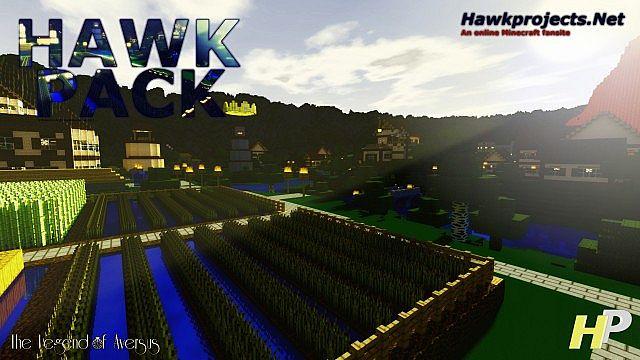 Minecrart : Texture Packs Minecraft Hawkpack Alpha Texture Pack 1.6.2/1.6.1/1.5.2