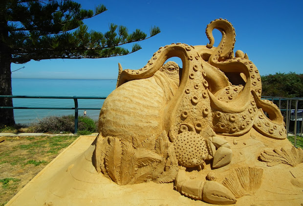 Meander Max Sand Sculptures Christies Beach