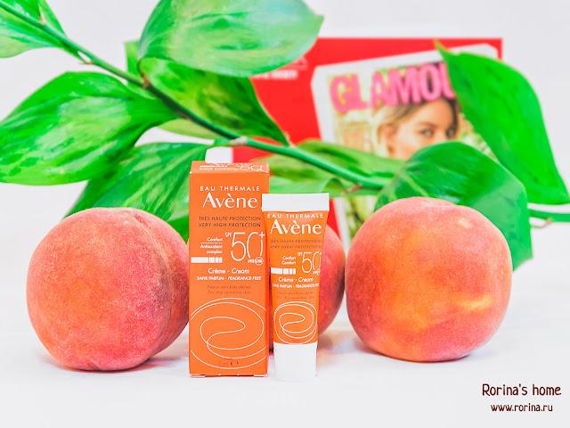 Avene Солнцезащитный Крем SPF 50+: отзывы