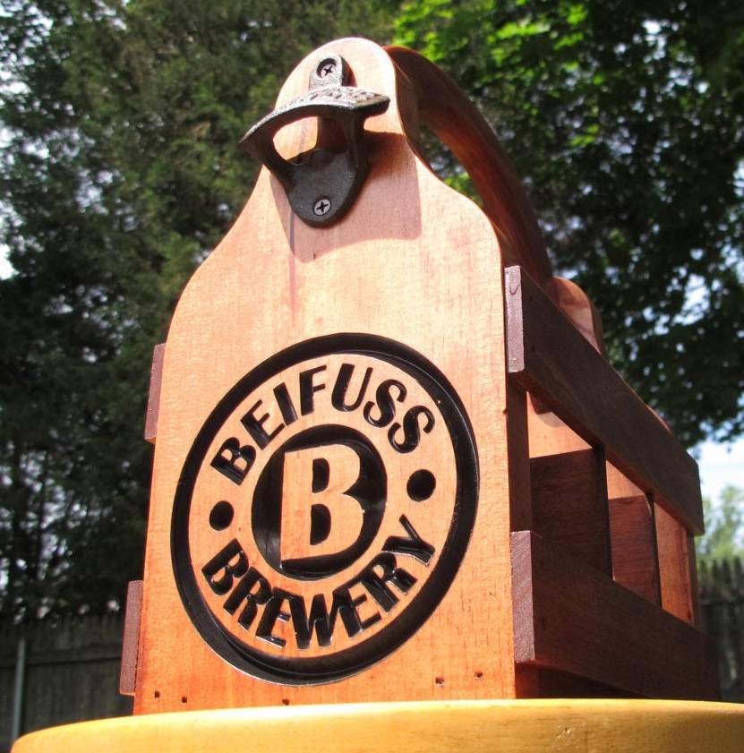 Beer Caddy / 6-Pack Holder - Beifuss Style