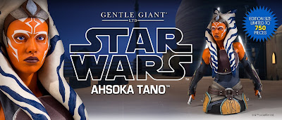 Star Wars Ahsoka Tano Mini Bust by Gentle Giant