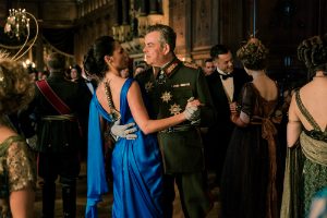 Gal Gadot as Diana and Danny Huston