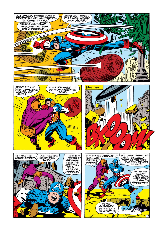 Read online Captain America (1968) comic -  Issue #105 - 20