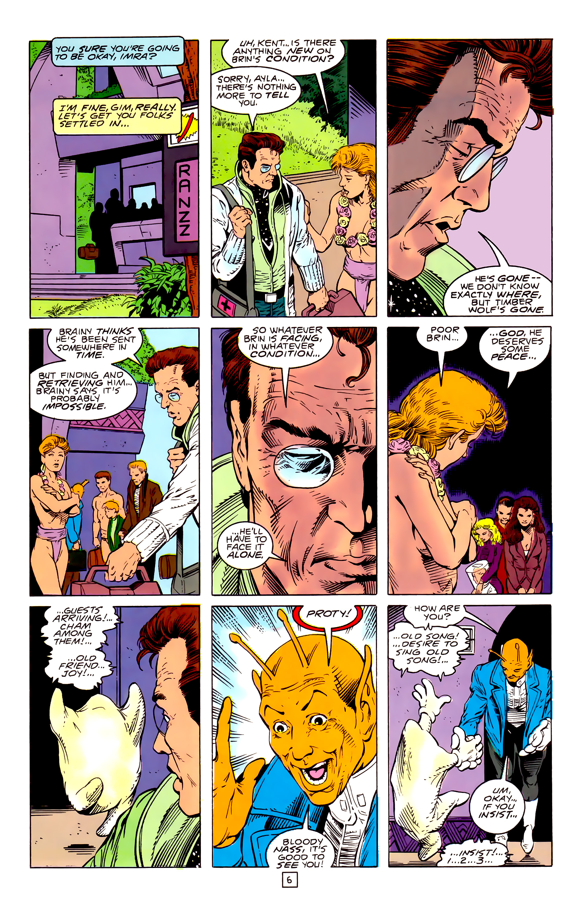 Legion of Super-Heroes (1989) _Annual_3 Page 33