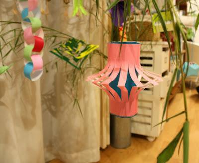 折り紙の提灯