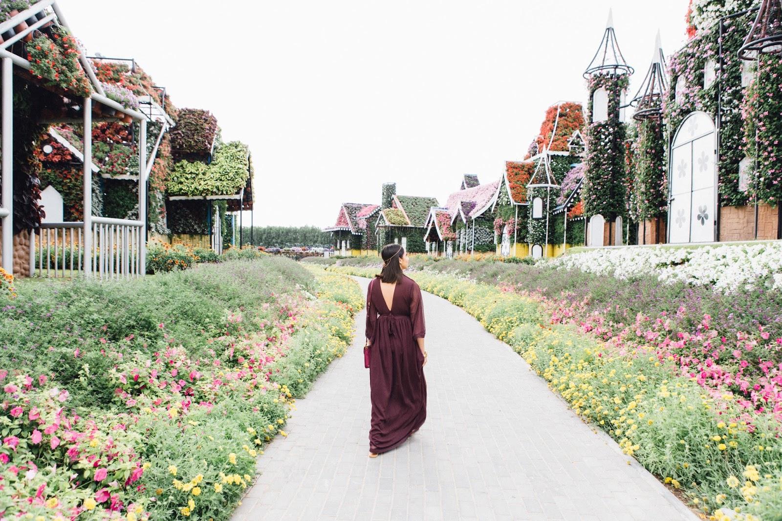 Dubai Photo Diary Day 4: Miracle Gardens & Souks - The
