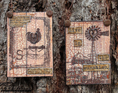 Artistic Outpost Stamp sets: The Outpost, Home