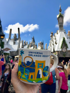Universal Orlando Starbucks You are Here Mug