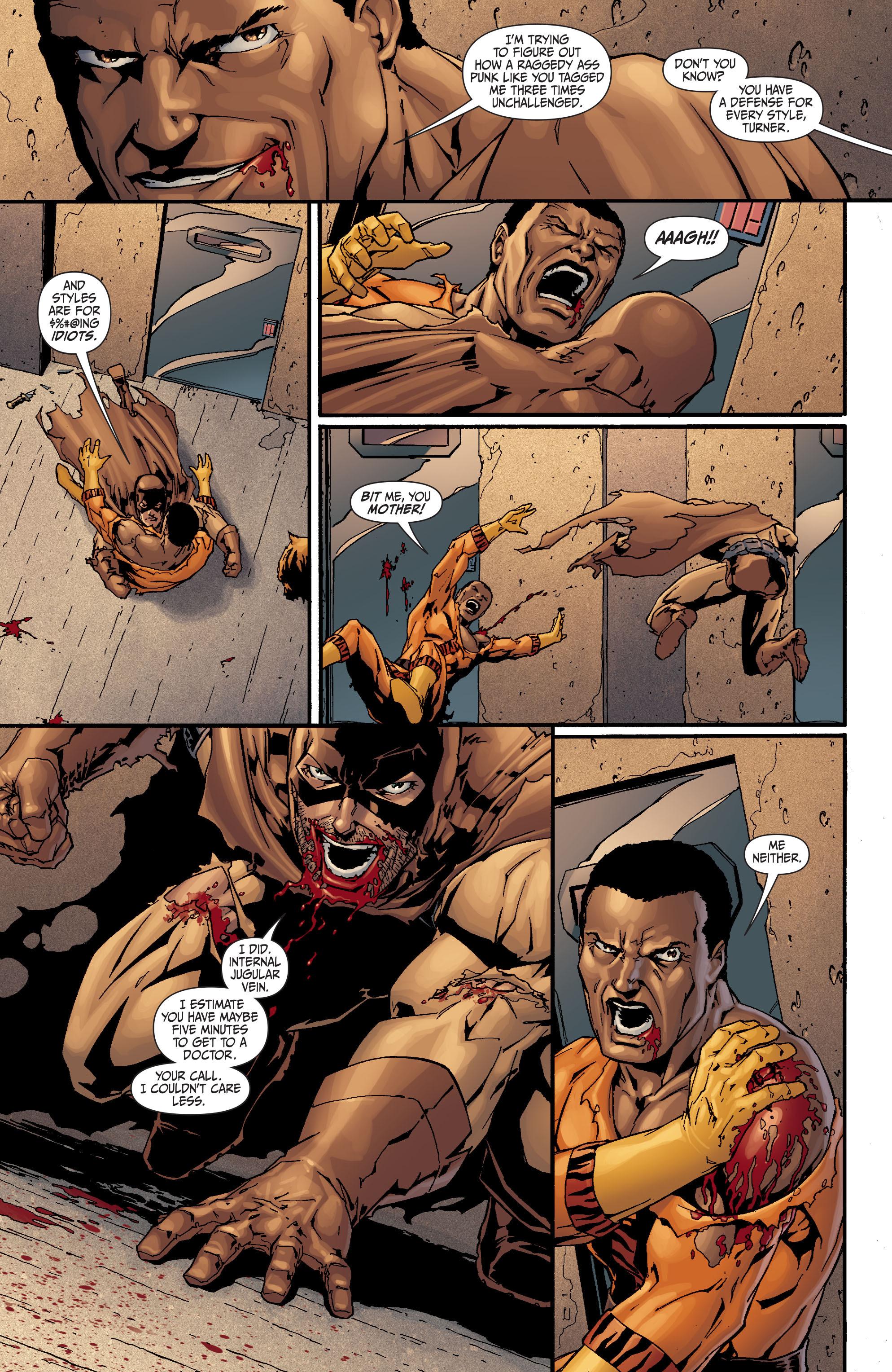 Read online Secret Six (2008) comic -  Issue #17 - 13
