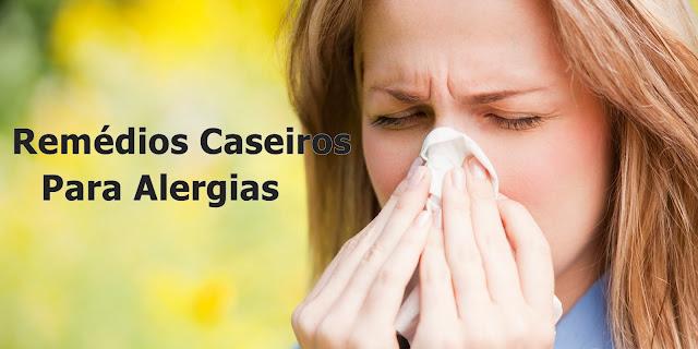 Remédios caseiros para alergias