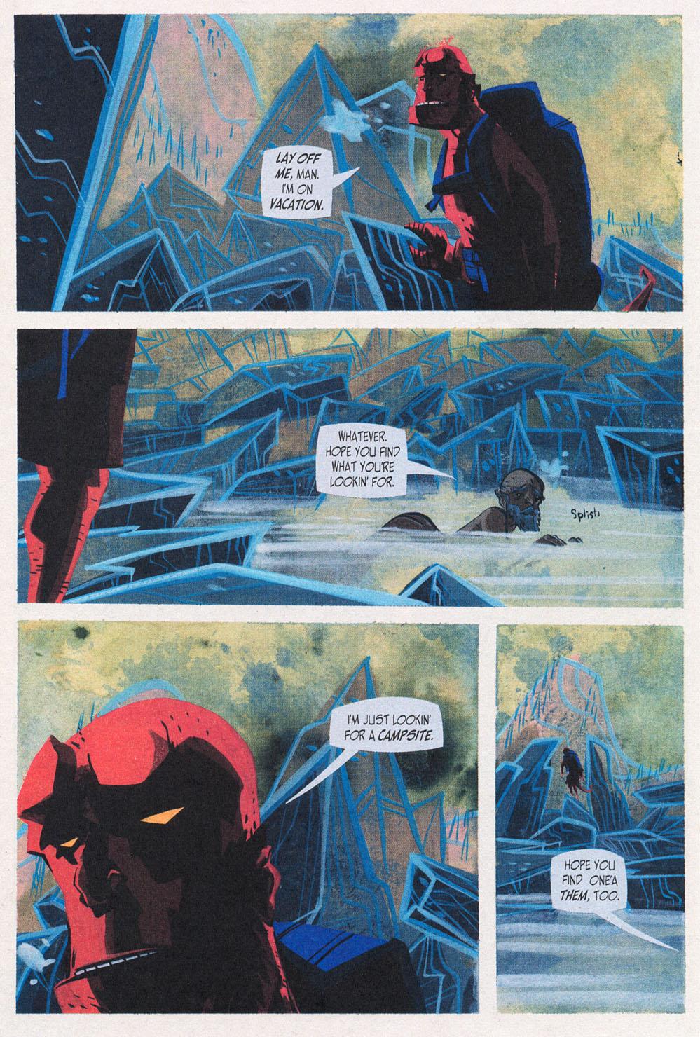 Read online Hellboy: Weird Tales comic -  Issue #5 - 16