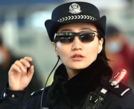 Chinese police have started using sunglasses equipped with facial recognition technology to identify suspected criminals