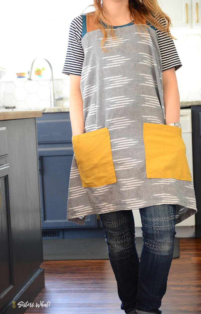 easy linen apron pattern