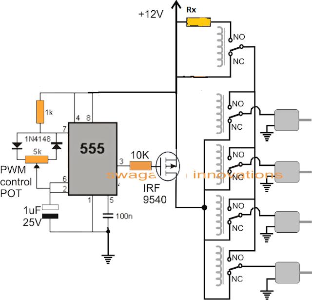 circuit diagram for quadcopter