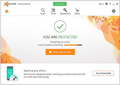 Avast Free Antivirus 2018 Free Download