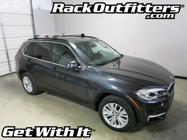 BMW X5 Thule SILVER AeroBlade EDGE Roof Rack '14-'16 ...