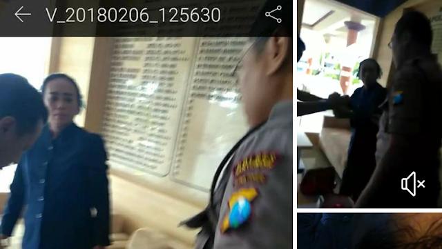 Viral Pengacara Dipukul Orang Tak Dikenal di Polres Banyuwangi