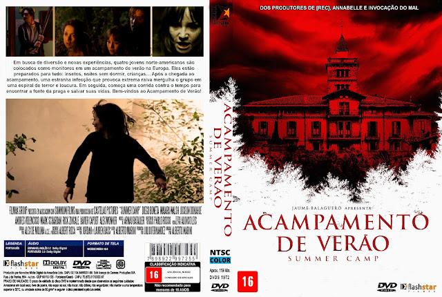 Capa DVD Acampamento De Verão