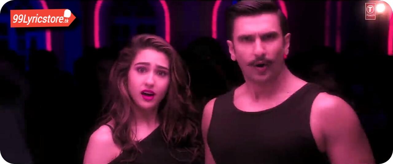 Neha Kakkar Song Lyrics, Mika Singh Song Lyrics, Ranveer Singh Song Lyrics, Sara Ali Khan Song Lyrics, Simbha Bollywood movie Song