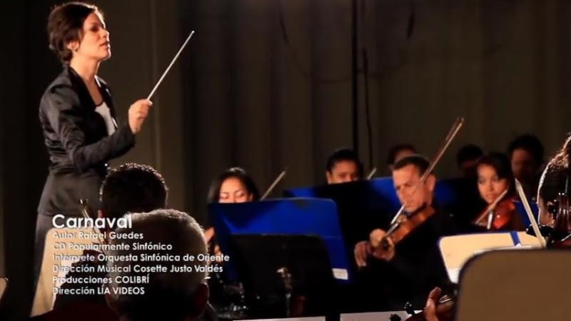 Orquesta Sinfónica de Oriente (Santiago de Cuba) - ¨Carnaval¨ - Videoclip - Dirección: LIA VIDEOS. Portal Del Vídeo Clip Cubano