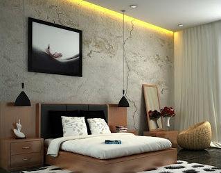 Habitaciones modernas y elegantes ideas para decorar - Lamparas para mesitas de noche ...
