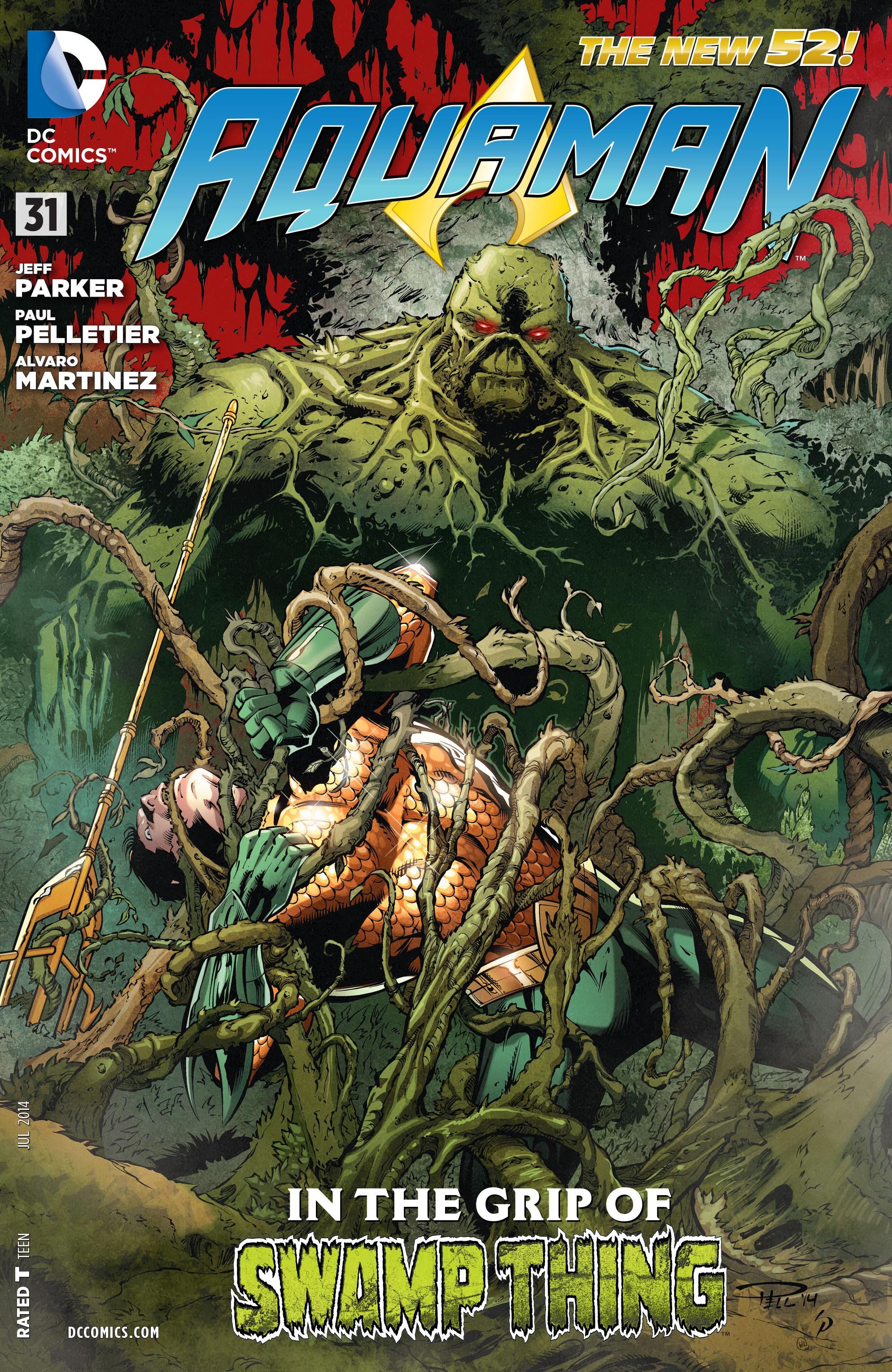 Read online Aquaman (2011) comic -  Issue #31 - 1