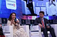 Madhuri Dixit Nene in designer Anarkali Dress at FICCI Awards 2017 049.JPG