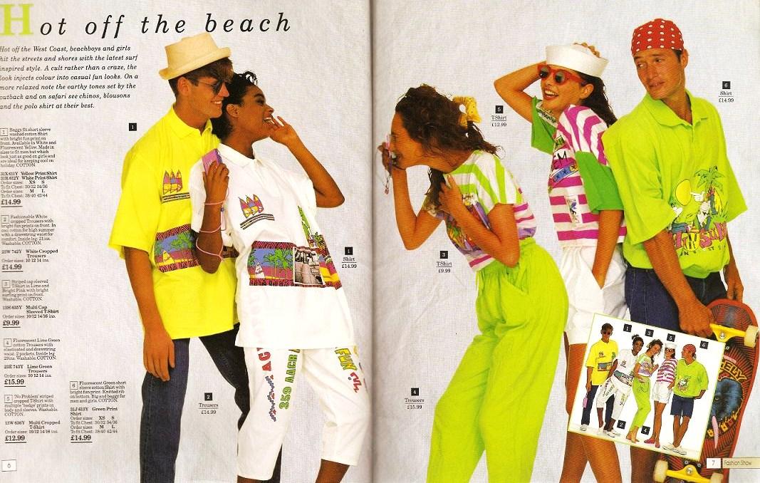 80s Actual Fashion 1989
