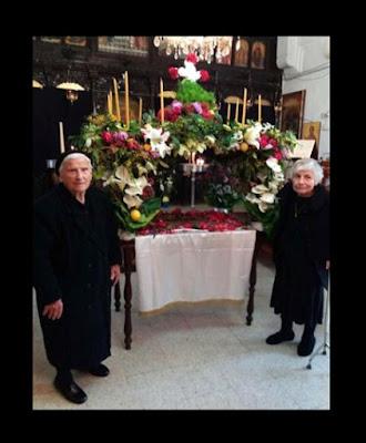το δικό τους επιτάφιο στόλισαν οι εγκλωβισμένοι μας στον   Ιερό Ναό Αγίας Τριάδας, στην Αγία Τριάδα Καρπασίας (Γιαλούσας).