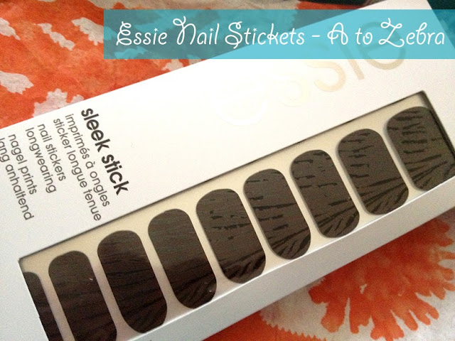 Essie Nail Stickers - 'A to Zebra'