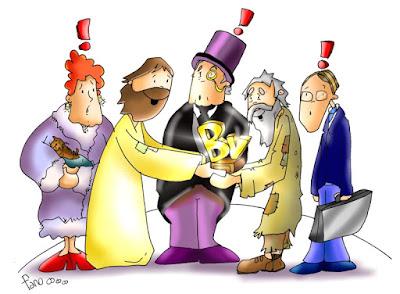 Resultado de imagen para Ay de vosotros cuando todos hablen bien de vosotros, porque así vuestros padres trataron a los falsos profetas
