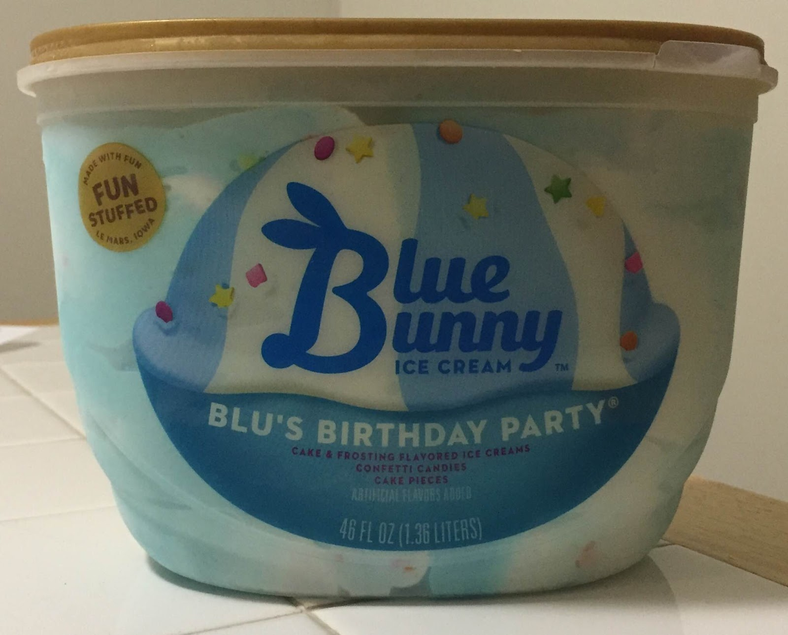 Blue Bunny Blus Birthday Party