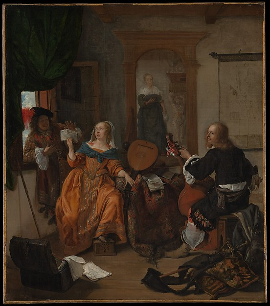 Talking Objects: The Servant's Place in Dutch Genre Paintings