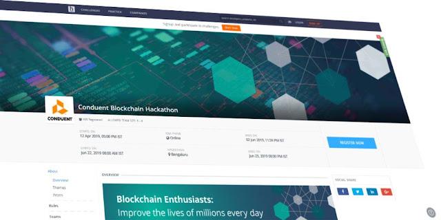 Conduent Announces Global Blockchain Technology Hackathon