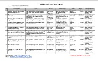 Contoh Program PGRI Cabang