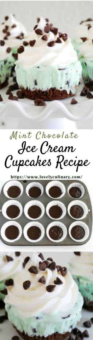 Ice Cream Cupcakes Recipe #desserts #cakerecipe #chocolate #fingerfood #easy