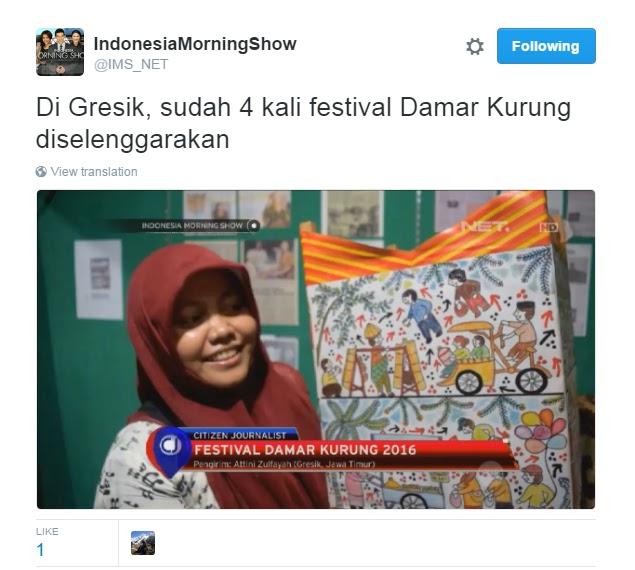 Festival Damar Kurung tayang di NET TV