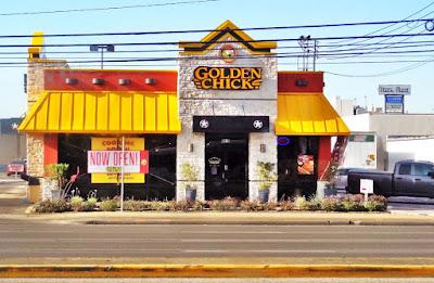 Golden Chick opening on Westheimer Rd Houston Texas 77063