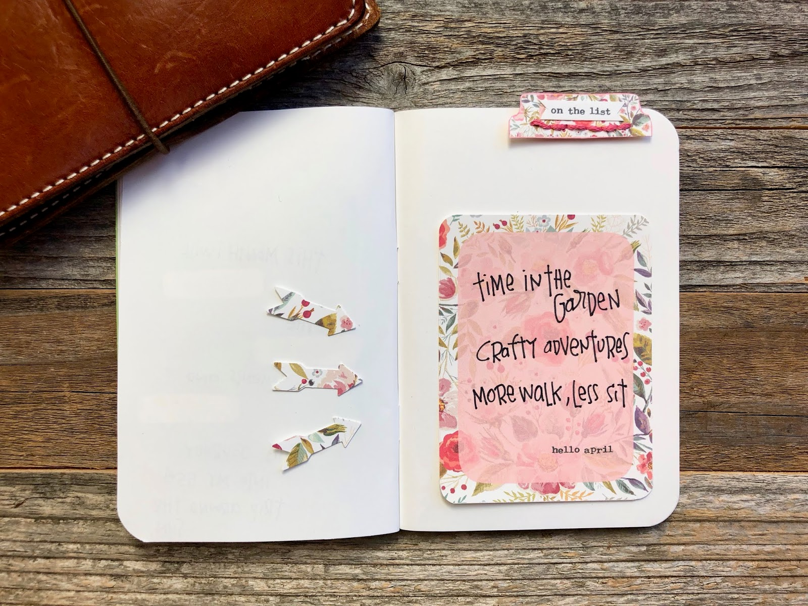 #hello april #hello #on the list #instant download #free download #journaling card #project card
