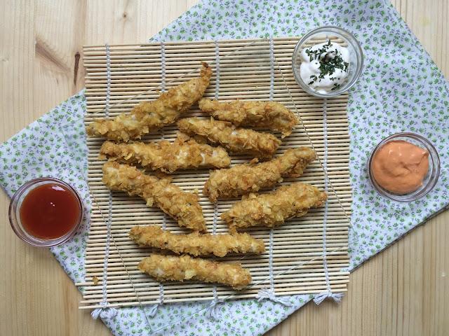fingers pollo salsas