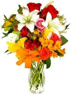 Imagen de un bello ramo de flores