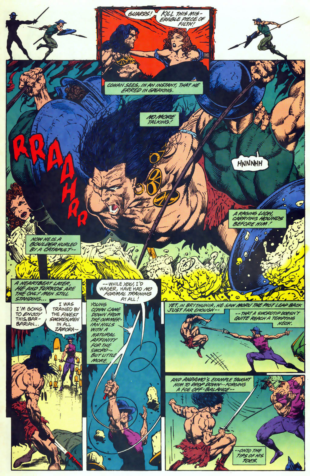 Read online Conan the Adventurer comic -  Issue #10 - 8