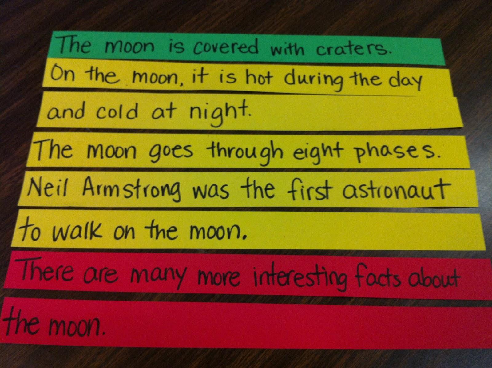 Identifying Topic Sentences 2nd Grade